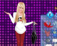 Hannah Montana dress up 2 hannah montana j�t�kok