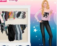 Hannah Montana dress up 4 online hannah montana j�t�k